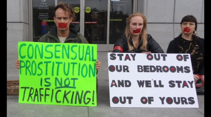 Stop Silencing Us- Sex Workers Protest Anti Trafficking Strategies 2014